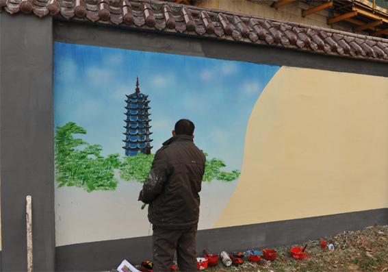 乡村墙绘起源与发展