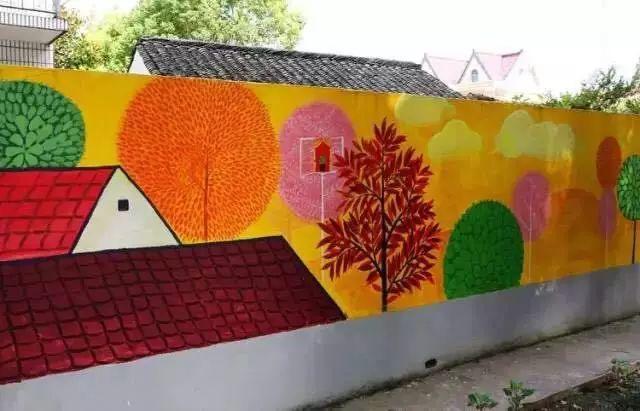 农民画在乡村墙绘中的运用