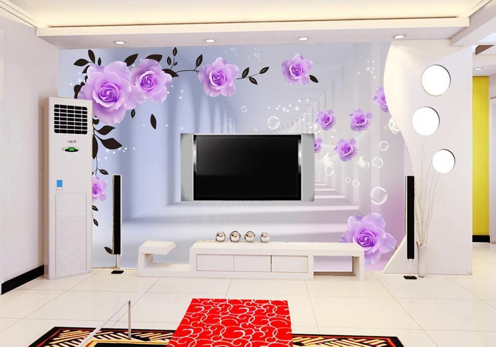 墙体彩绘在室内装潢中的未来发展优势
