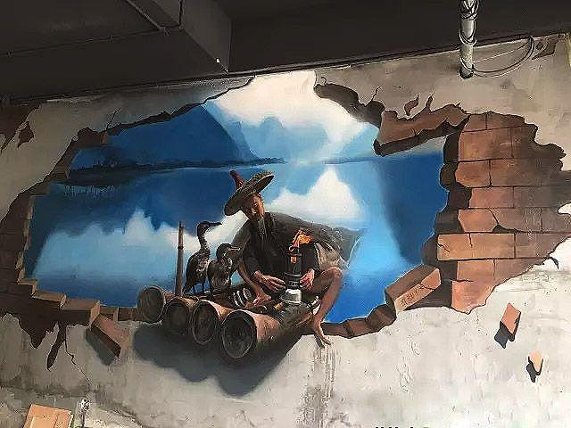 墙体彩绘的表现特点