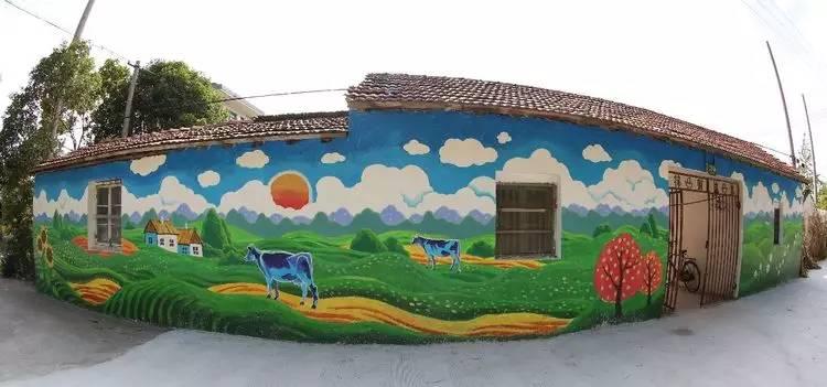墙体彩绘艺术相对于其他设计艺术的优势