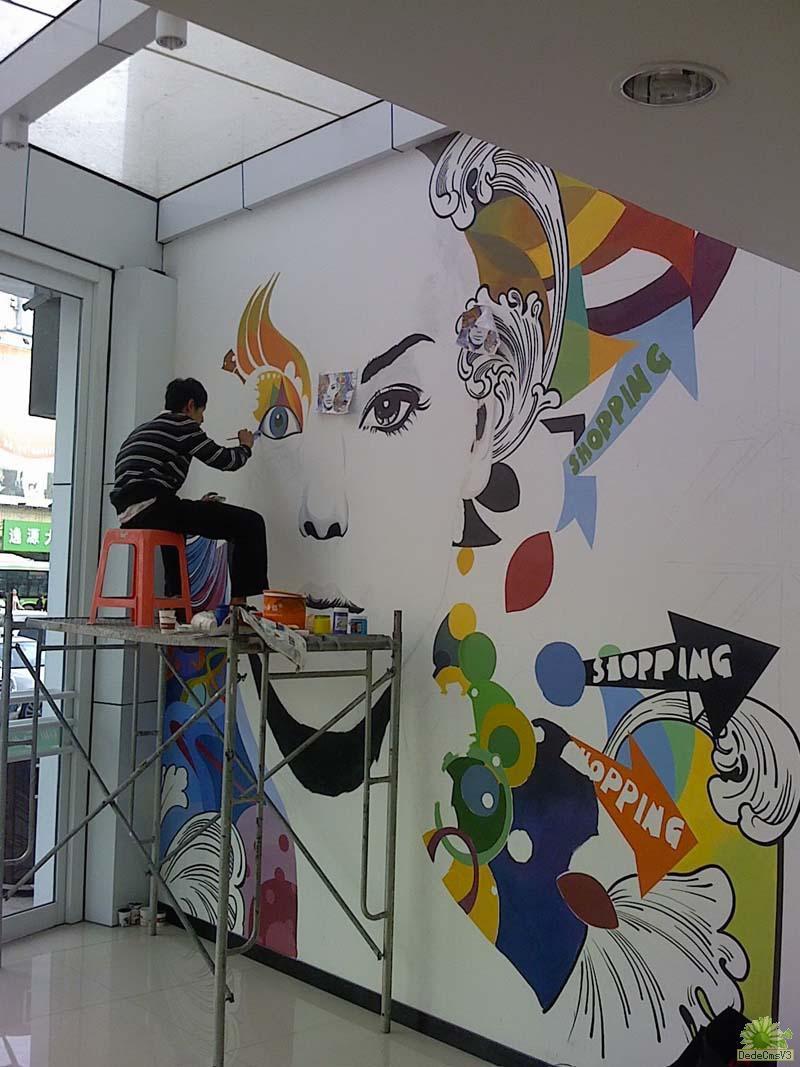 一起来看看办公室墙绘设计方案吧