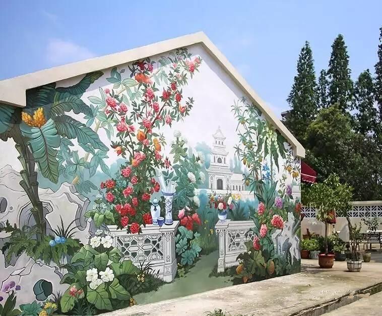给您介绍墙体彩绘该注意些什么