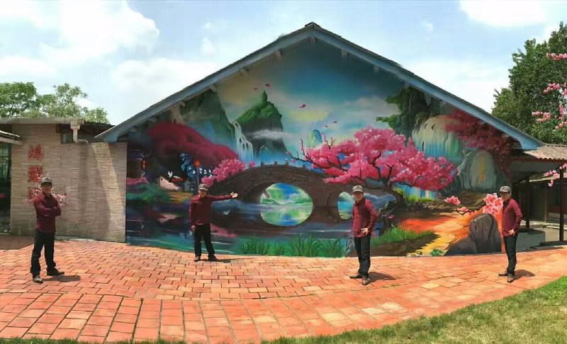涂鸦手绘墙绘与墙纸全攻略