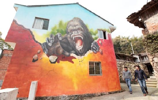您选择墙绘手绘墙的八点优势