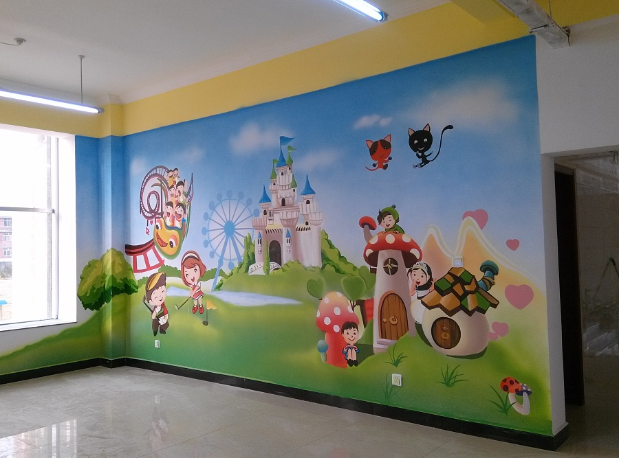 幼儿园使用墙绘有什么优势特点