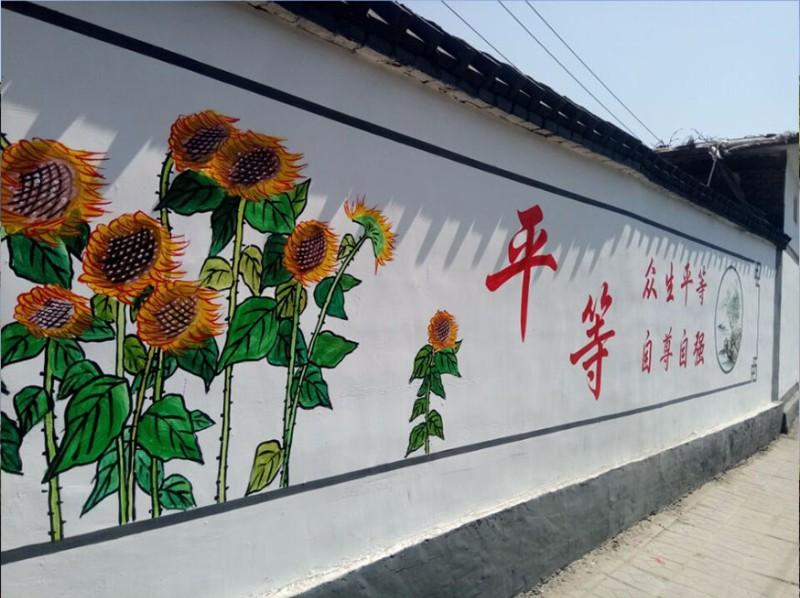 美丽乡村墙绘制作中的痛点及误区
