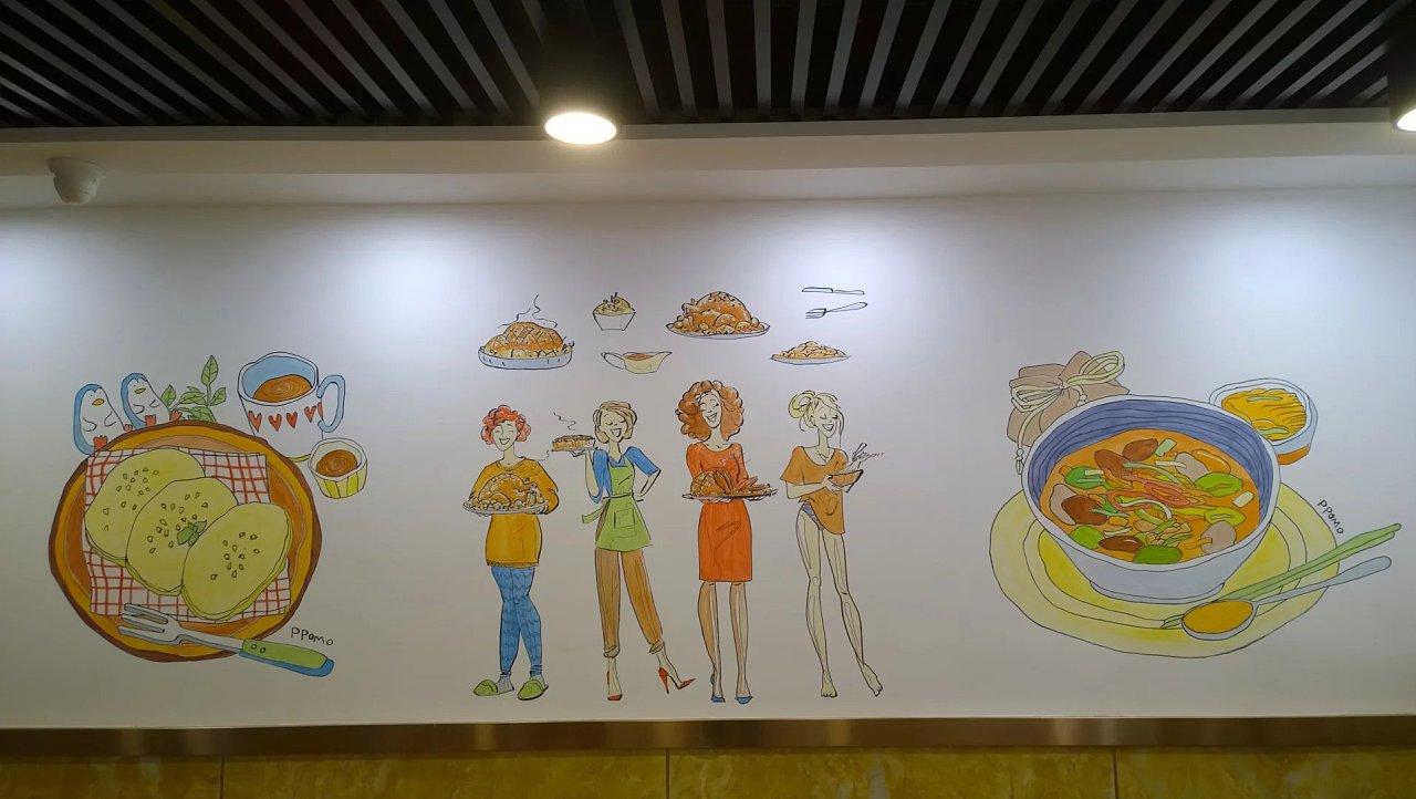墙绘壁画的种类与技法