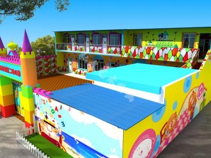 幼儿园墙体彩绘作品制作流程以及技术