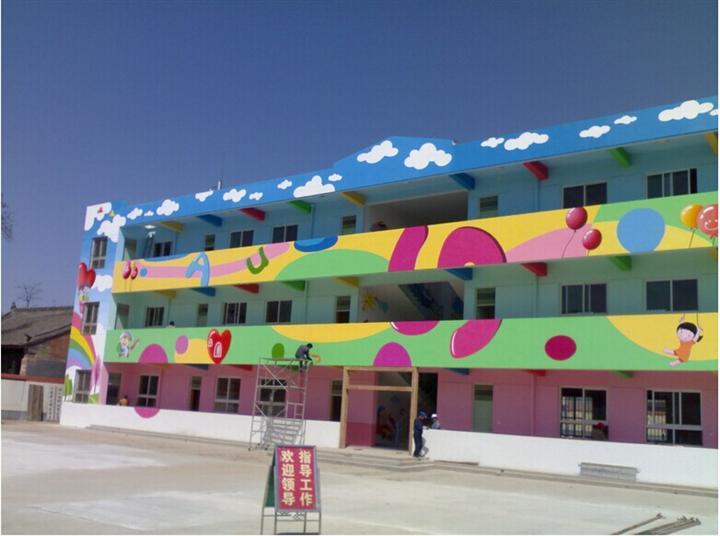 幼儿园墙面彩绘的注意事项