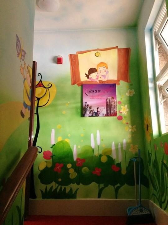 南昌墙面手绘,南昌幼儿园墙体绘画