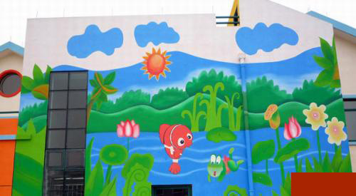 南昌涂鸦墙,南昌墙体喷绘广告,南昌墙壁绘画