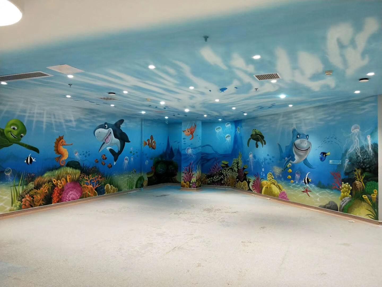 南昌文化墙墙体彩绘,南昌墙画涂鸦,南昌墙面绘画