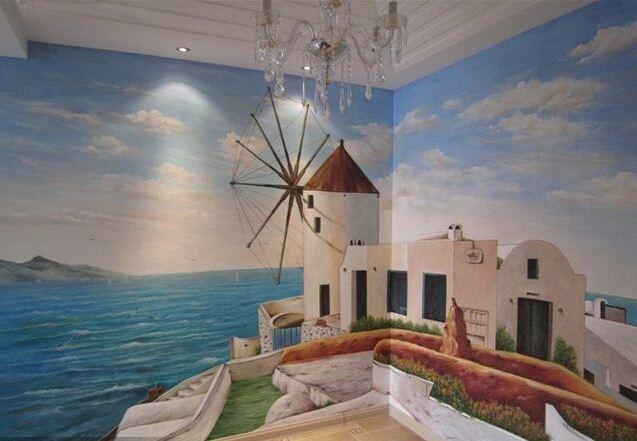 南昌绘画墙面,南昌喷绘公司,南昌墙面彩绘,南昌彩绘墙面
