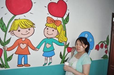 南昌画图公司,南昌彩绘文化墙,南昌画图,南昌墙壁上画画