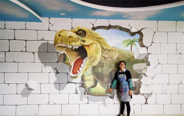 南昌室外墙体喷绘,南昌彩绘古建,南昌手绘墙绘,南昌彩绘画