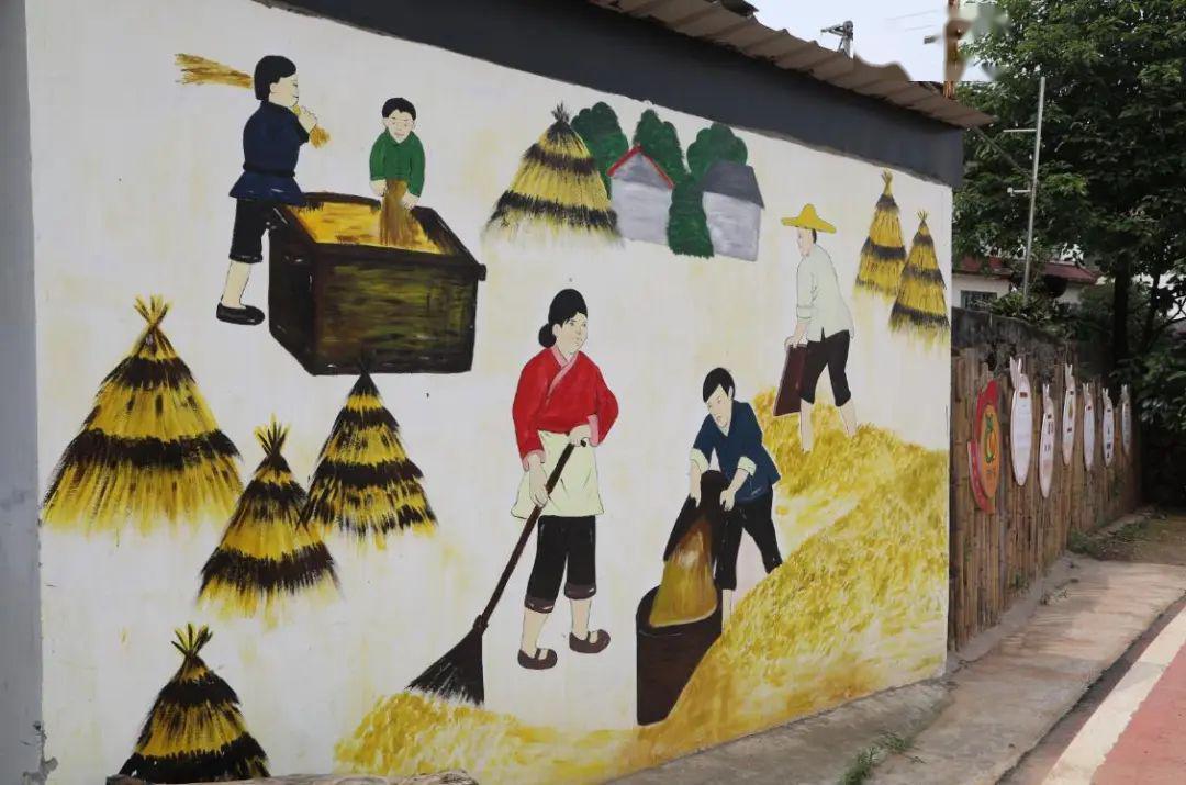 南昌餐馆墙体彩绘,南昌外墙绘画,南昌手绘墙壁画