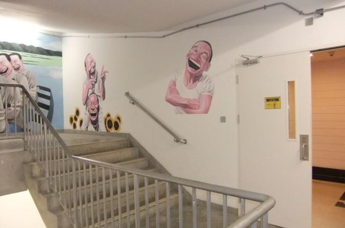 南昌室内手绘,南昌幼儿园彩绘墙,南昌手绘装饰画
